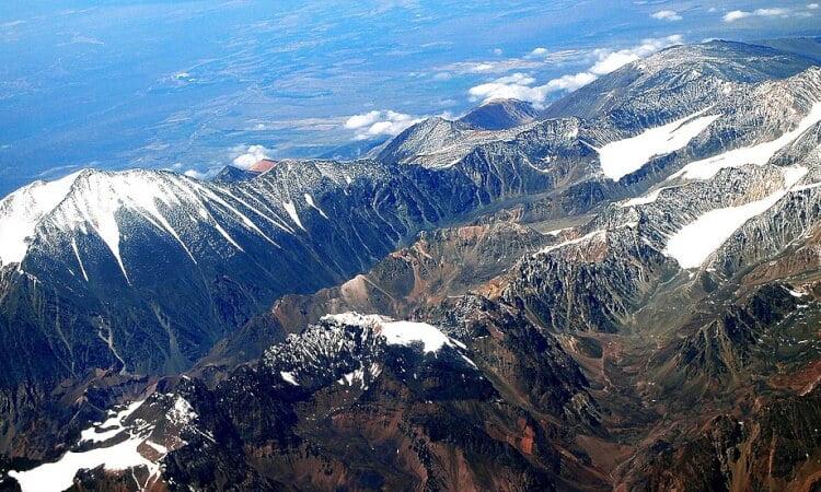 Världens längsta bergskedja - Anderna