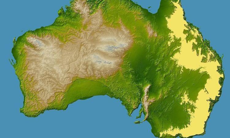 Världens längsta bergskedja - Great Dividing Range