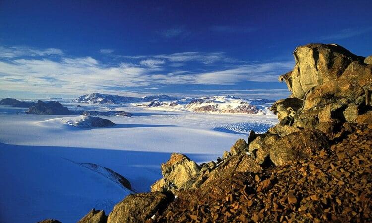 Världens längsta bergskedja - Transantarktiska bergen
