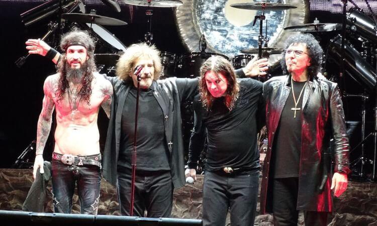 Världens största hårdrocksband - Black Sabbath