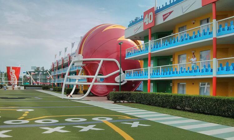 Världens största hotell - Disney's All-Star Resort