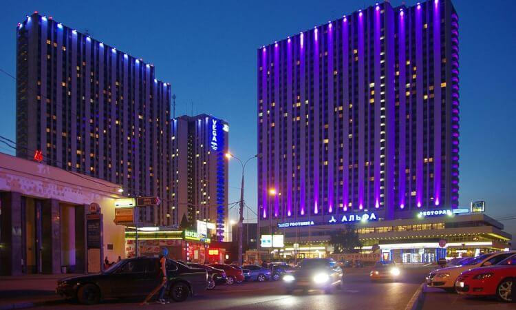 Världens största hotell - Izmailovo Beta Hotel