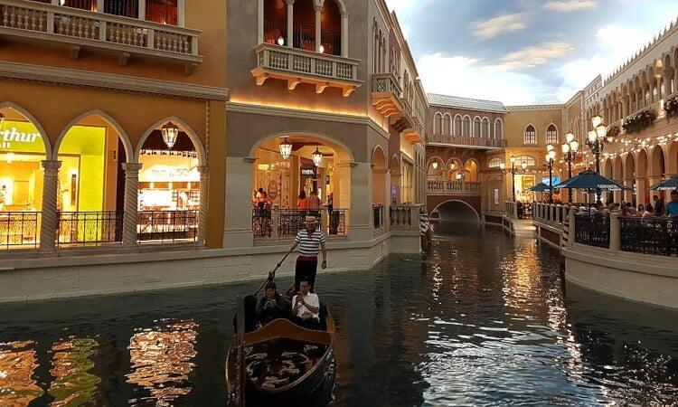 Världens största hotell - The Venetian